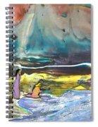 Jesus Walking On The Water Spiral Notebook