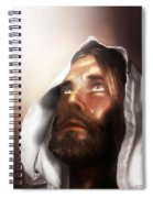 Jesus Wept Spiral Notebook