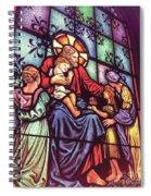 Jesus With The Children Spiral Notebook