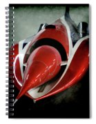 Jet Car Spiral Notebook