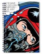 Jet Pilot Spiral Notebook