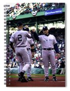 Jeter And Torre Spiral Notebook