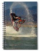 Jetski Flip Spiral Notebook