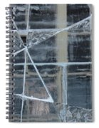Jeux De Glace I / Ice Setting I Spiral Notebook