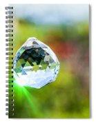 Jewel Hanging Outdoors  Spiral Notebook