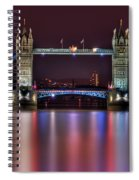 Jewel Of The Night Spiral Notebook