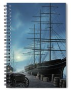 Jewel Of The North Spiral Notebook