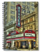Jewel Of The South Tivoli Chattanooga Historic Theater Art Spiral Notebook