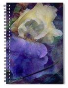 Jeweled Iris Spiral Notebook