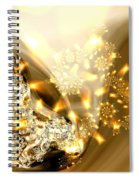 Jewels And Satin Spiral Notebook