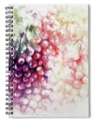 Jewels On The Vine Spiral Notebook