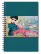 Jewish Woman Spiral Notebook