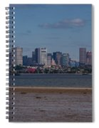 Jfk Library And Boston Spiral Notebook