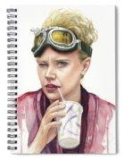 Jillian Holtzmann Ghostbusters Portrait Spiral Notebook