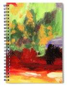 Jill's Abstract Spiral Notebook
