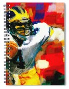 Jim Harbaugh  I Guarantee Spiral Notebook