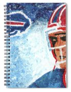 Jim Kelly Spiral Notebook