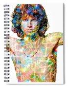 Jim Morrison The Doors Spiral Notebook