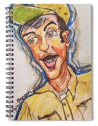 Jim Nabors Spiral Notebook