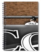 Jim Tracy Rockies Manager Spiral Notebook