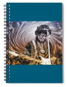 Jimi Hendrix - Legend Spiral Notebook