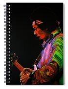 Jimi Hendrix 4 Spiral Notebook