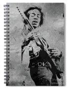 Jimi Hendrix Pop Star  Spiral Notebook
