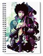 Jimi Hendrix, The Legend Spiral Notebook