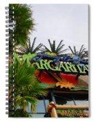 Jimmy Buffets Margaritaville In Las Vegas Spiral Notebook