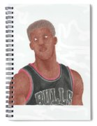 Jimmy Butler Spiral Notebook