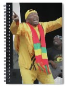 Jimmy Cliff Painting Spiral Notebook
