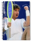 Jimmy Connors Spiral Notebook