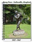 Jimmy Foxx Spiral Notebook