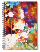 Jimmy Page Jamming Spiral Notebook