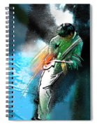 Jimmy Page Lost In Music Spiral Notebook