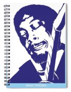 Jimmy Rogers Spiral Notebook