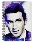 Jimmy Stewart, Vintage Actor Spiral Notebook