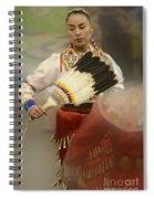 Pow Wow Jingle Dancer 1 Spiral Notebook