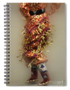 Pow Wow Jingle Dancer 6 Spiral Notebook