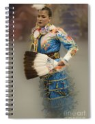 Pow Wow Jingle Dancer 7 Spiral Notebook