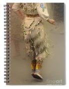 Pow Wow Jingle Dancer 9 Spiral Notebook