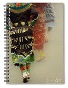Pow Wow Jingle Dancers 2 Spiral Notebook
