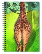 Jirafa Spiral Notebook