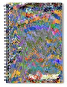 Jittery Colors Spiral Notebook