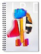 Jive Bird Spiral Notebook