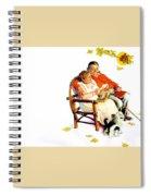 Jlm-norman Rockwell 28 Norman Rockwell Spiral Notebook