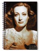 Joan Crawford, Hollywood Legends Spiral Notebook