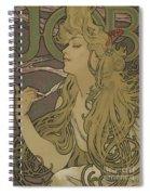 Job Vintage Poster Spiral Notebook