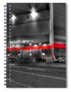Joe Louis Arena Detroit Mi Spiral Notebook