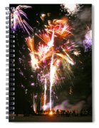 Joe's Fireworks Party 2 Spiral Notebook